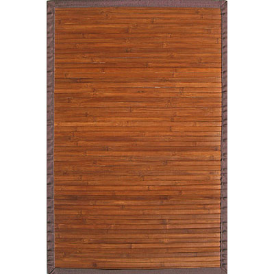 Anji Mountain Bamboo Rug, Co Contemporary 4 x 6 Chocolate Area Rugs
