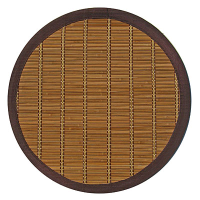 Anji Mountain Bamboo Rug, Co Pearl River 7 Round Pearl River Area Rugs