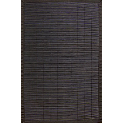 Anji Mountain Bamboo Rug, Co Villager Bamboo Rug 5 x 8 Ebony Area Rugs