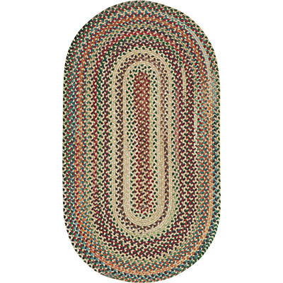 Capel Rugs Bear Creek 7 ft round Wheat Area Rugs