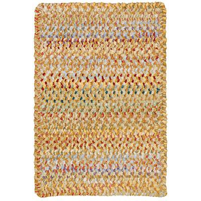 Capel Rugs Grand-Le-Fleur 11 x 14 oval Marigold Area Rugs