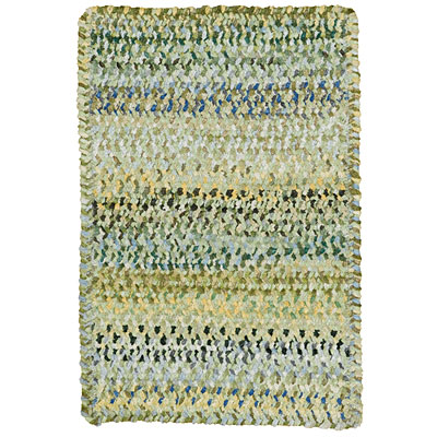Capel Rugs Grand-Le-Fleur 11 x 14 oval Willow Area Rugs