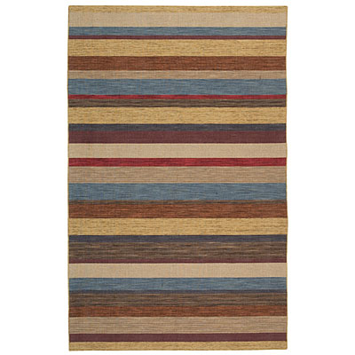 Capel Rugs Del Cabo 8 x 11 Canyon Stripes Area Rugs
