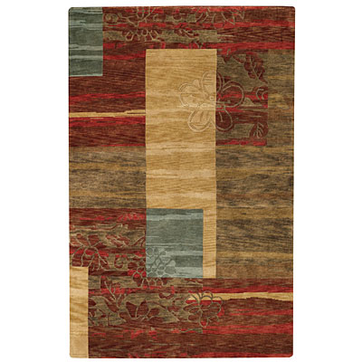 Capel Rugs Artscapes 5 x 8 Canyon Red Area Rugs