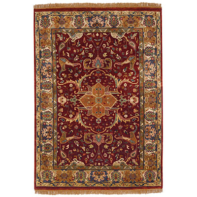 Capel Rugs Babylon - Kirman 9 x 12 Red Area Rugs