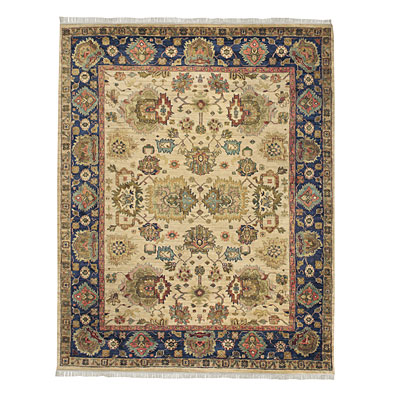 Capel Rugs Babylon - Meshed 9 x 12 PastelLinen Area Rugs