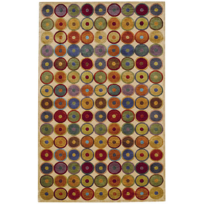 Capel Rugs Crystalle - Bubbles 8 x 11 Multi Area Rugs
