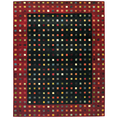 Capel Rugs Crystalle - Chips 8 x 11 Onyx Area Rugs
