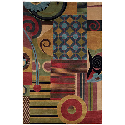 Capel Rugs Crystalle - Collage 7 x 9 Muiti Area Rugs