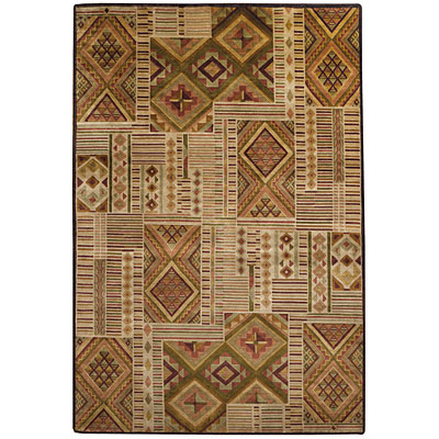 Capel Rugs Crystalle - Mosaic 7 x 9 Spice Area Rugs
