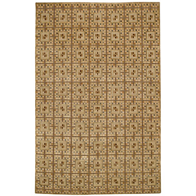 Capel Rugs Crystalle - Terazzo 8 x 11 Harvest Area Rugs