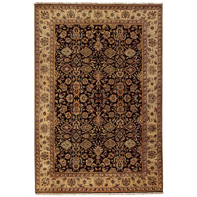 Capel Rugs Heirlooms - Agra 8 x 10 BlackCream Area Rugs