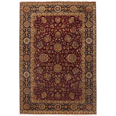 Capel Rugs Heirlooms - Sultanabad 6 x 9 RedBlack Area Rugs