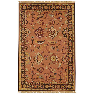 Capel Rugs Indienne - Oushak 8 x 12 Coral Area Rugs