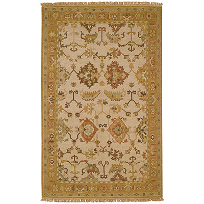 Capel Rugs Indienne - Oushak 8 x 12 Honey Area Rugs