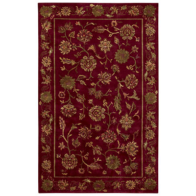 Capel Rugs Lotus 10 x 14 Crimson Area Rugs