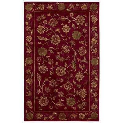 Capel Rugs Lotus 8 x 11 Crimson Area Rugs