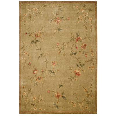 Capel Rugs Nepal Passage II 8 x 10 LightGreen Area Rugs