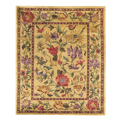 Capel Rugs Panama Orchids 9x11 Amber Area Rugs