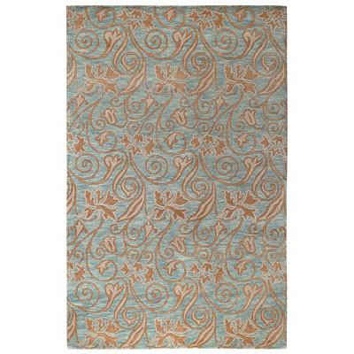 Capel Rugs Tibetan Treasures 7 x 9 Wedgewood Area Rugs
