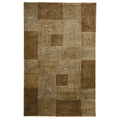 Capel Rugs Andes 7 x 9 Bronze Area Rugs