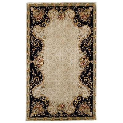 Capel Rugs Antoinette 9 x 12 AntiqueIvory Area Rugs
