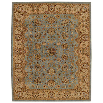 Capel Rugs Kaimuri-Medallions 9 x 12 Blue/Gold Area Rugs