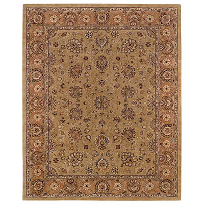 Capel Rugs Kaimuri-Medallions 9 x 12 ChamgpagnePeach Area Rugs