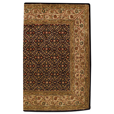 Capel Rugs Mahal-Bahktiar 9x13 Black Area Rugs
