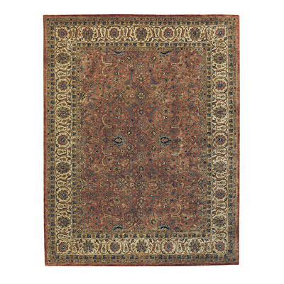 Capel Rugs Mahal-Floral 9x13 Rustique Area Rugs
