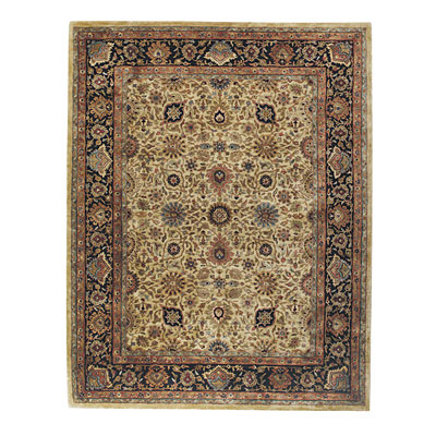 Capel Rugs Mahal-Keshan 9x13 Gold Area Rugs