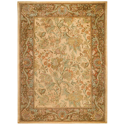 Capel Rugs Marthas Vineyard Pastels 9x14 Biscuit Area Rugs
