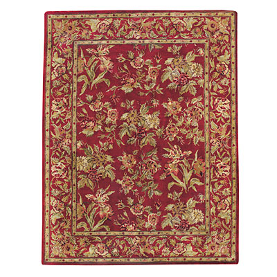 Capel Rugs Marthas Vineyard 5x8 Imperial Red Area Rugs