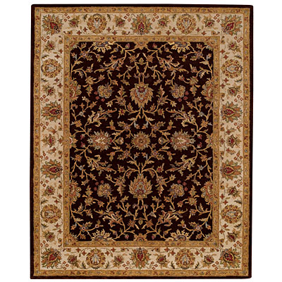 Capel Rugs Mumtaz - Keshan 10x14 ChocolateWheat Area Rugs