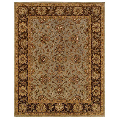 Capel Rugs Mumtaz - Meshed 9X12 CeladonCocoa Area Rugs