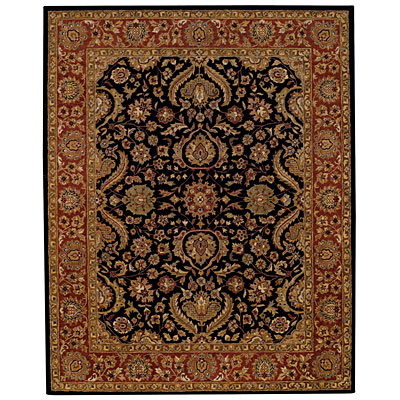 Capel Rugs Mumtaz - Palmette 10X14 BlackRustique Area Rugs