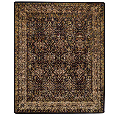 Capel Rugs Regal - Agra 8 x 11 Black Area Rugs