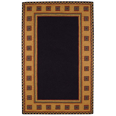 Capel Rugs Riverwood 5 x 8 Black Area Rugs