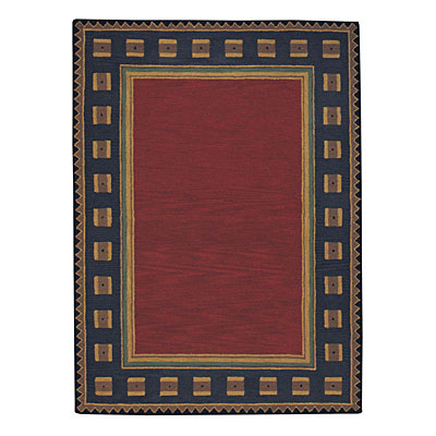 Capel Rugs Riverwood 7 x 9 Red Area Rugs