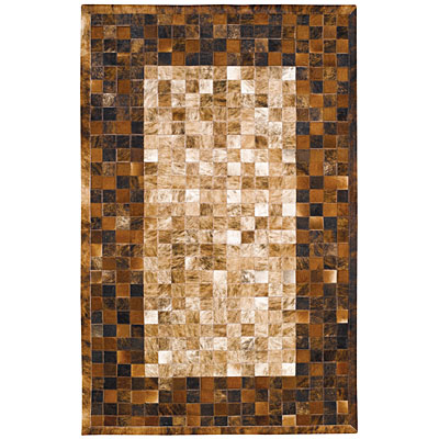 Capel Rugs Chapparral - Cowhide 8 x 10 Rawhide Area Rugs