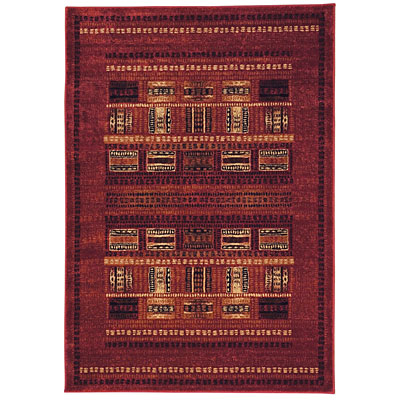 Capel Rugs Fresh Air 8 x 11 Rouge Area Rugs