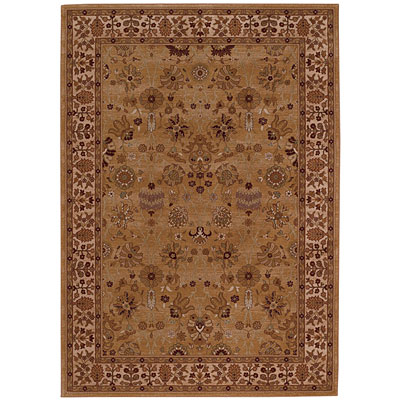 Capel Rugs Satin - Topaz 8 x 12 Citrine Area Rugs