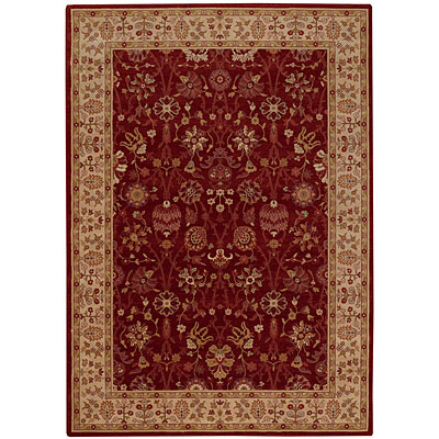 Capel Rugs Satin - Topaz 8 x 10 Ruby Area Rugs