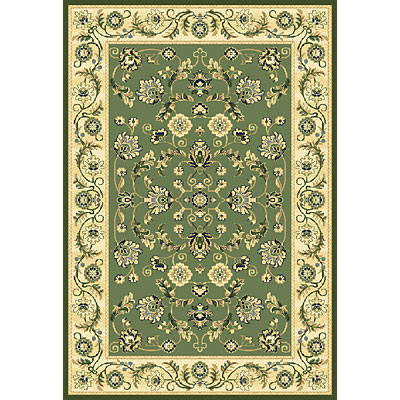 Central Oriental Inspirations - Cambridge 5 x 8 Cambridge Green Area Rugs
