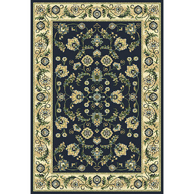 Central Oriental Inspirations - Cambridge 5 x 8 Cambridge Navy Area Rugs