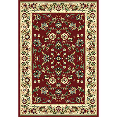 Central Oriental Inspirations - Cambridge 5 x 8 Cambridge Red Area Rugs