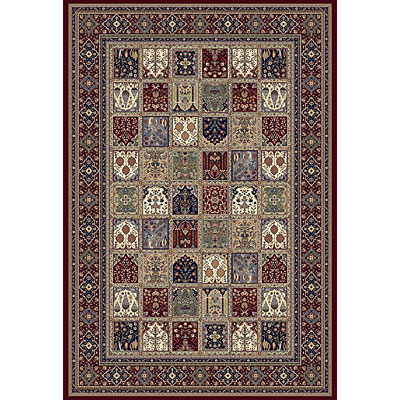Central Oriental Royal - Ottoman Panel 3 x 5 Ottoman Panel Red Area Rugs