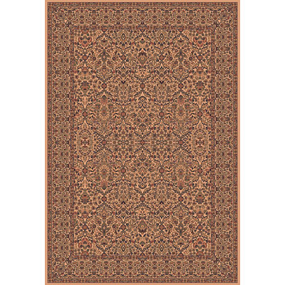 Central Oriental Reflections - Panel Kerman 8 x 10 Panel Kerman Cream Area Rugs