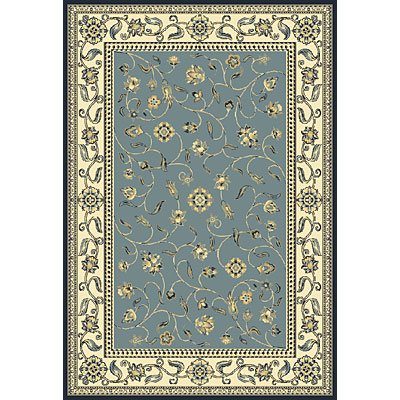 Central Oriental Inspirations - Tuscany 3 x 5 Tuscany Blue Area Rugs