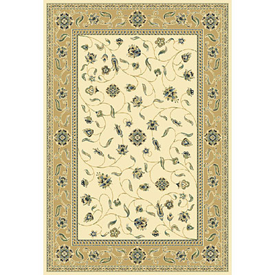 Central Oriental Inspirations - Tuscany 7 x 11 Tuscany Ivory Area Rugs